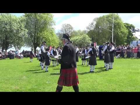 Portavogie Pipe Band @ Ards & North Down Pipe Band Championships 2016