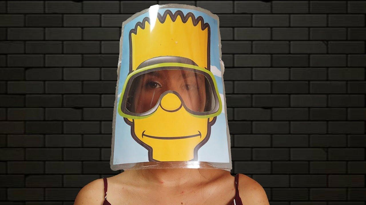 Protector Facial Animado Para niños Muy Fácil