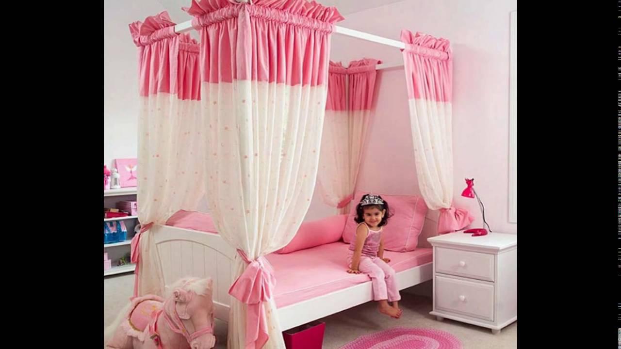 Beautiful baby girl bed room - YouTube
