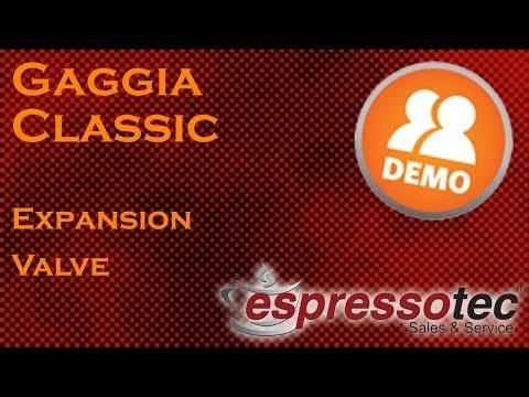 Gaggia Classic - Adjusting The Brew Pressure