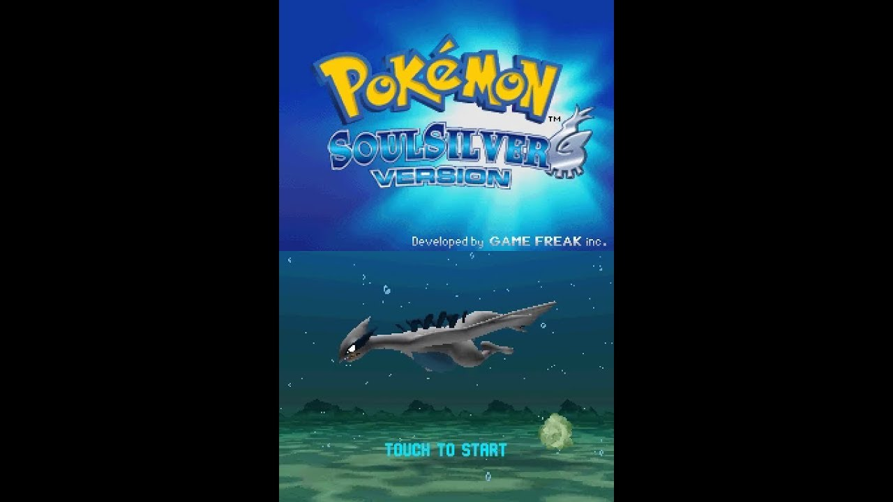 Pokemon SoulSilver Version (NDS) - Kanto Longplay