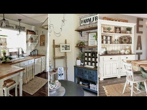 ❤DIY Rustic Farmhouse style Kitchen decor Ideas❤ | Home decor & Interior design| Flamingo Mango