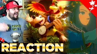 Nintendo Direct E3 Reaction of Banjo in Smash and Zelda BOTW Sequal