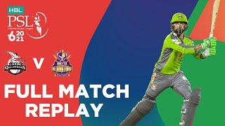 FULL MATCH REPLAY - Lahore Qalandars vs Quetta Gladiators | Match 4 | HBL PSL 6