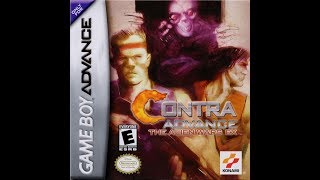 Contra Advance: The Alien Wars EX. GBA. Playthrough