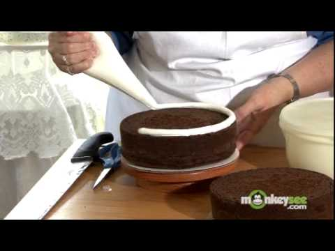 How To Bake And Decorate A Cake Youtube