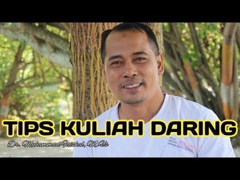 TIPS KULIAH ONLINE DI ZAMAN CORONA (Dr.Muhammad Faishal, M.Us)#MOTIVASI