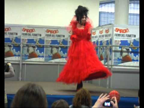 Lydia Deetz - Cosplay Contest - YouTube