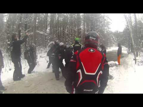 Sledding with Ontario Conditions Group in Ontario 2016