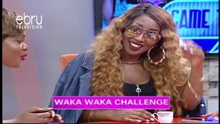 Game: Waka Waka Challenge With Victoria Kimani