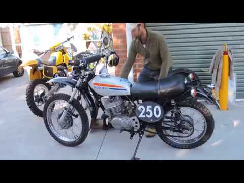 Suzuki TS 250 1974 Flat Tracker- (second tuned video) for sale on ebay May  2018