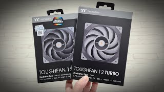 Thermaltake ToughFan 12 and 12 Turbo Radiator Fan Review