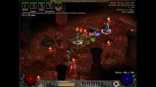 Etal Leechbot following Baal runs - Diablo II