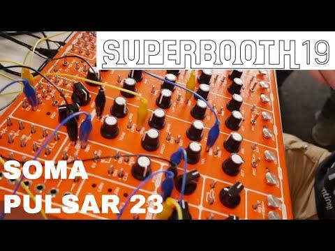 Superbooth 2019 - SOMA Pulsar 23 Drum machine