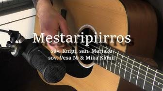 Mestaripiirros - Anna Puu cover by Vesa Nurminen