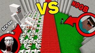Minecraft Battle: 1000 SCP 096 vs NOOB Challenge in Minecraft Animation!