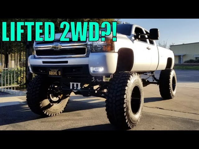 is-it-ok-to-lift-a-2wd-truck