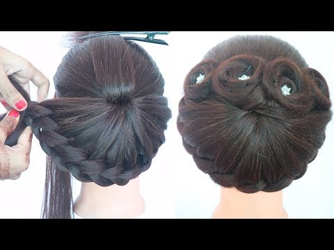 new-hairstyle-for-girls-||-cute-hairstyles-||-hairstyle-for-short-hair-||-wedding-hairstyle