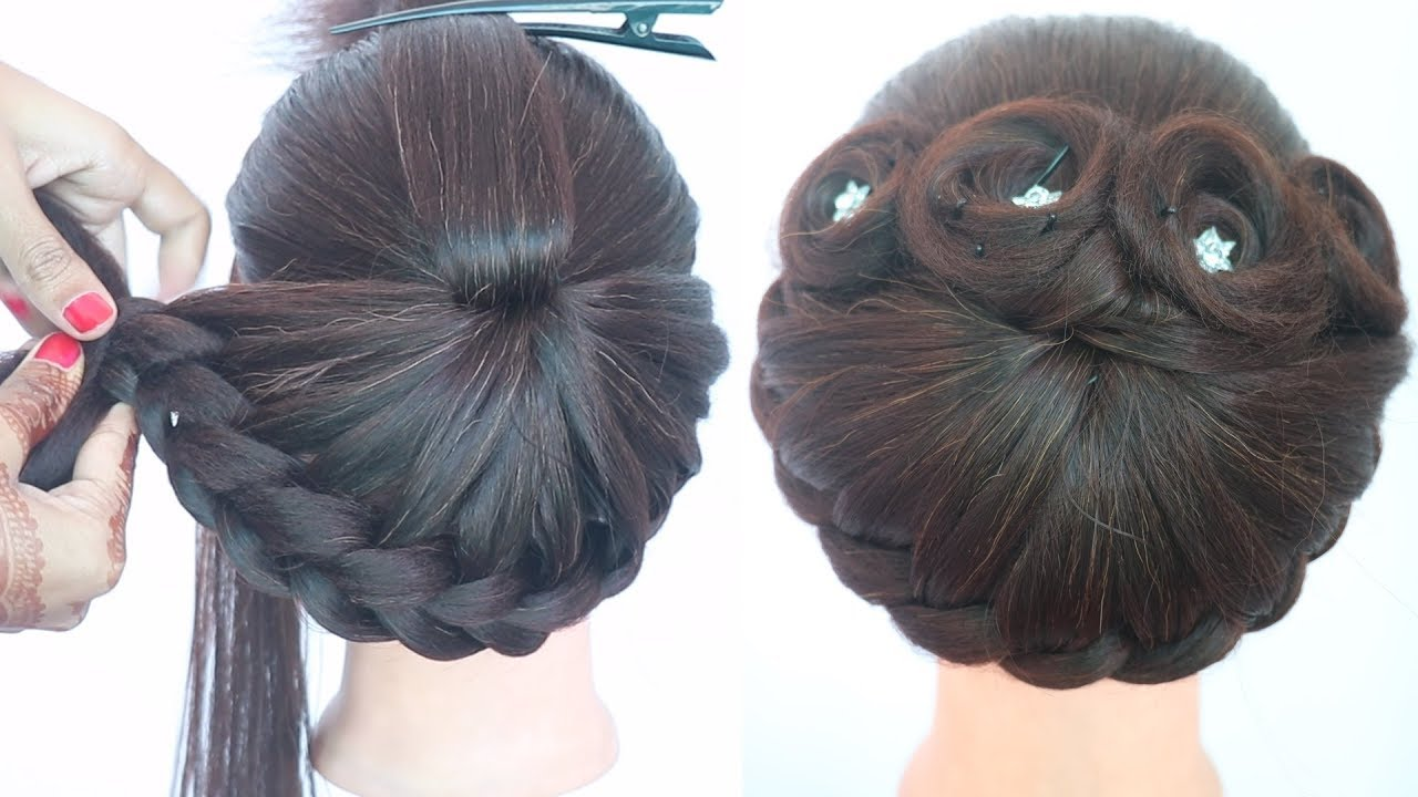 new hairstyle for girls || cute hairstyles || hairstyle for short hair || wedding hairstyle