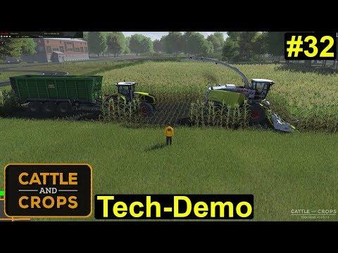 Cattle and Crops - Tech Demo - vollautomatische Ernte durch die Helfer #32 - Deutsch/German