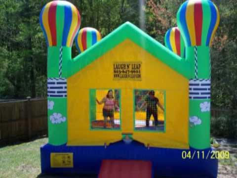 Bounce House Rentals Columbia Sc Laugh N Leap Amusements Youtube