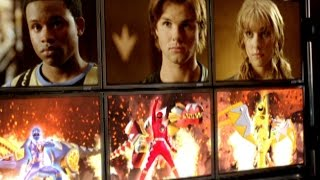 Power Rangers Dino Thunder - Power Rangers History (Legacy Of Power Episode)