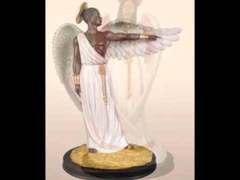 BLACK ANGELS FIGURINES-BLACK FIGURINES-ANGELS- ANGEL ART-BLACK ANGELS ART