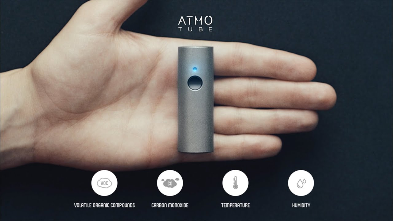 Atmotube Portable Air Pollution Monitor Indiegogo