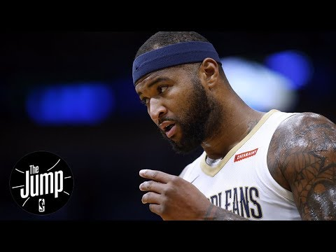 Did DeMarcus Cousins 'load up' his elbow during hit to Russell Westbrook? | The Jump | ESPN