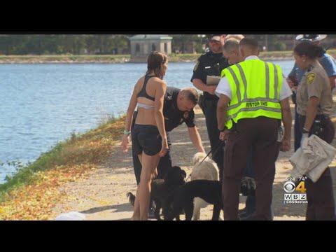 Elite marathon runner stops and saves drowning man mid-run