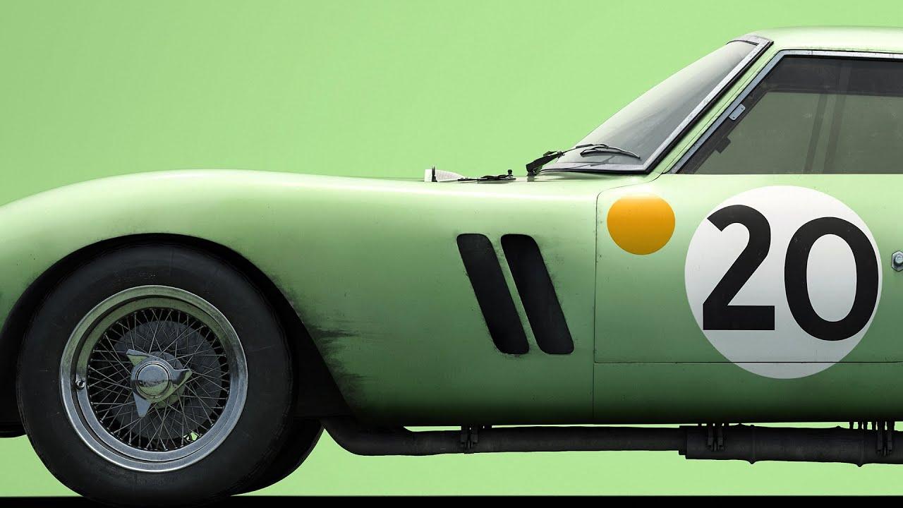 Green Ferrari 250 Gto 3505 24h Le Mans 1962 Colors Of