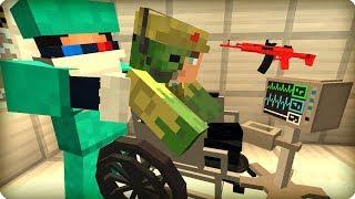 Мой друг становится зомби? [ЧАСТЬ 41] Зомби апокалипсис в майнкрафт! - (Minecraft - Сериал)
