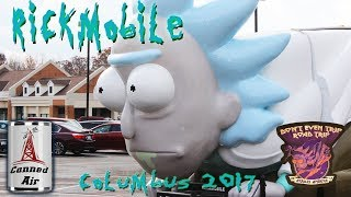 The Rick & Morty RICKMOBILE Columbus, Ohio 2017
