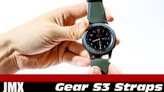 "Comparing ""Quick Release"" Silicone vs. Stainless Steel Watch Straps for the Samsung Gear S3"