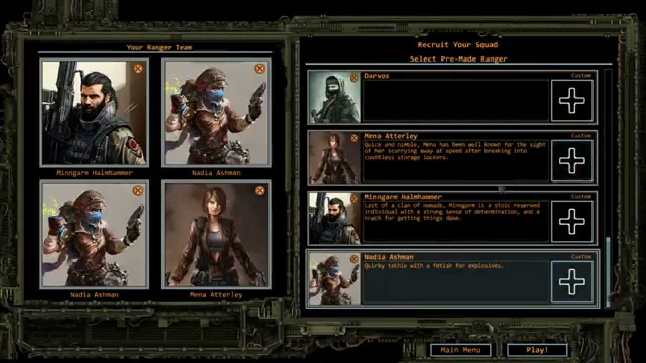 How to build a team a wasteland 2 directors cut guide youtube.