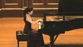 Soyoung Choe plays Debussy Preludes Ce qu'a vu le vent d'ouest (made by Simon