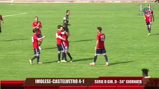 Serie D Girone D Imolese-Castelvetro 4-1