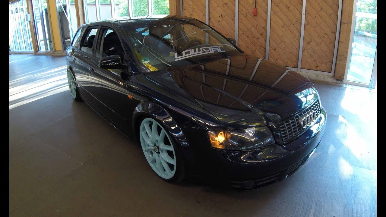 audi a4 avant b6 lowered show car walkaround. Black Bedroom Furniture Sets. Home Design Ideas