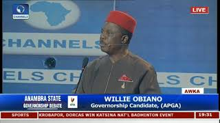 Anambra Governorship Debate Pt 3