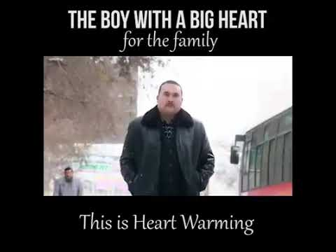 The boy with a big Heart for the family ( This is Heart warming)