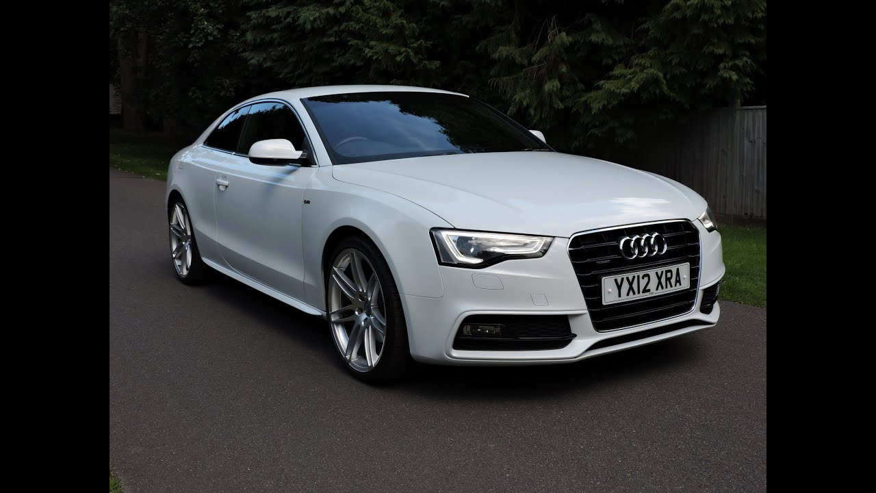 audi a5 coupe 2 0 tfsi 210 s line quattro walkaround youtube. Black Bedroom Furniture Sets. Home Design Ideas