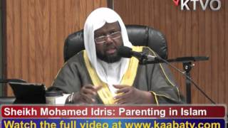 Sheikh Mohamed Idris Somali Lecture on Parenting in Islam