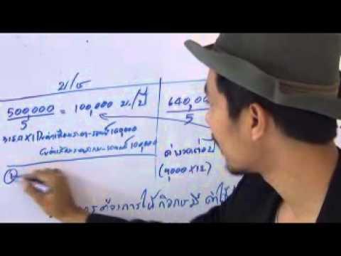 เช่าซื้อ : สัญญาเช่าดำเนินงาน สัญญาเช่าการเงิน ต้นทุนสินทรัพย์และค่าเสื่อมราคา(5/5)