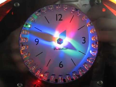A Bulbdial Clock on the window sill