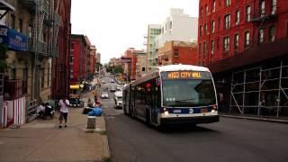 2012 NovaBus LFS Articulated 5888 On The M103 @ Lexington Avenue & 103rd Street
