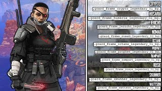 EVERY NEW APEX LEGENDS LEAK (Legends, Maps, Weapons, Modes)