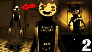 bendy has been summoned   bendy and the ink machine chapter two