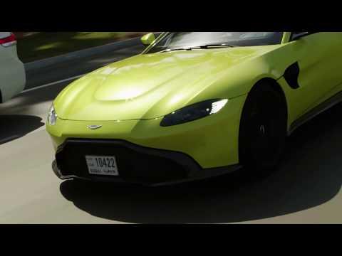Daniel Ricciardo & Martin Brundle meet #NewVantage | Aston Martin