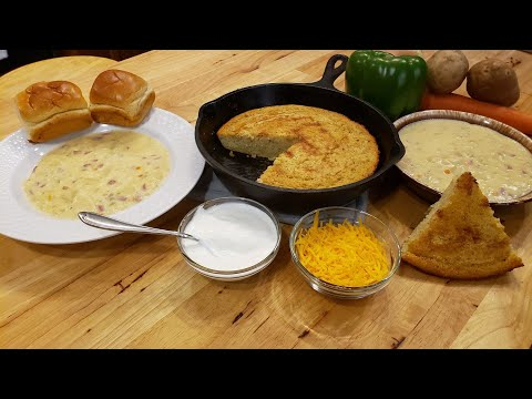 Ham and Potato Soup (Quick Version - Recipe Only) The Hillbilly Kitchen