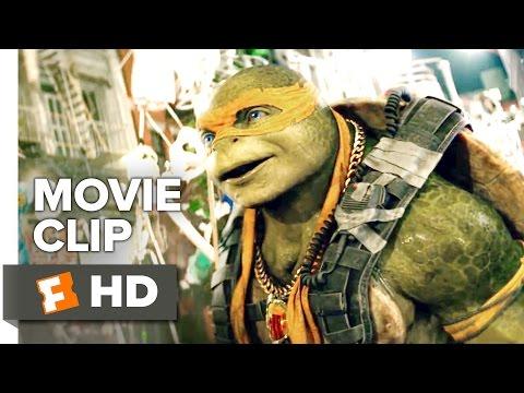 Teenage Mutant Ninja Turtles: Out of the Shadows Movie CLIP - Halloween Parade (2016) - Movie HD